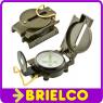 BRUJULA BOLSILLO METALICA PROFESIONAL COMPAS MILITAR CON ESCALA PARA MAPA BD9291 -
