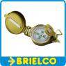 BRUJULA LENSATICA BOLSILLO METALICA PROFESIONAL COMPAS MILITAR CON LUPA BD9290 -