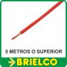 CABLE FLEXIBLE SILICONADO ROJO PARA PUNTAS PRUEBA INSTRUMENTOS DE MEDIDA BD7892 -