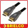 CABLE HDMI MACHO A HDMI MACHO 15 METROS PROFESIONAL CONECTORES DORADOS BD11351 -