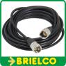 CABLE LATIGUILLO RG58 PL-259 MACHO-MACHO UHF 50 OHMIOS 10M BD6670 -