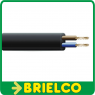 CABLE MANGUERA ACRILICA NEGRA SECCION 2X1.5MM 1 METRO BD737 -