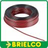 CABLE PARALELO PARA ALTAVOZ AUDIO ROJO NEGRO 2x0,35MM ROLLO 50M BD109/50 -