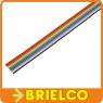 1 METRO DE CABLE PLANO 10 VIAS 28AWG MULTICOLOR CINTA PVC RASTER 1.27MM BD11409 -