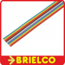 1 METRO DE CABLE PLANO 16 VIAS 28AWG MULTICOLOR CINTA PVC RASTER 1.27MM BD11411 -