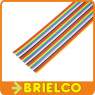 1 METRO DE CABLE PLANO 34 VIAS 28AWG MULTICOLOR CINTA PVC RASTER 1.27MM BD11414 -