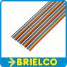 1 METRO DE CABLE PLANO 40 VIAS 28AWG MULTICOLOR CINTA PVC RASTER 1.27MM BD11417 -