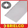 1 METRO CABLE PLANO 50 VIAS 28AWG GRIS CINTA PVC RASTER 1.27MM BD11406 -