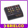 CAJA CONTROL AUDIO/VIDEO DE 3 VIAS ENTRADAS Y 2 SALIDAS PASIVAS CON RCAS BD6555 -