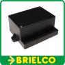 CAJA PLASTICO ABS NEGRA MONTAJES ELECTRONICOS 65X95X46MM CA403N BD7936 -