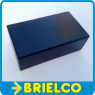 CAJA DE PLASTICO ABS PARA MONTAJES ELECTRONICOS CA802N NEGRA 105X59X36MM BD9743 -