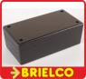CAJA DE PLASTICO ABS PARA MONTAJES ELECTRONICOS CA804N NEGRA 105X60X50MM BD9744 -