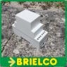 CAJA MODULAR CARRIL DIN PLASTICO PARA MONTAJES ELECTRICOS 12 CONEXIONES BD7952 -