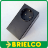 CAJA PLASTICO ABS MONTAJES ELECTRICOS CLAVIJA Y BASE SCHUKO 105X60X50MM BD9741 -