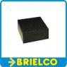 CAJA PLASTICO ABS NEGRA MONTAJES ELECTRONICOS 104X86X38MM CON PATAS CA26N BD7937 -