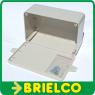 CAJA PLASTICO GRIS PARA MONTAJES ELECTRONICOS 150X100X60MM CON SOPORTES IP54 BD6936 -