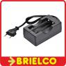 CARGADOR AUTOMATICO DE 2 BATERIAS LITIO 3.7V TIPO 18650 CONTROL POR LED BD4717 -