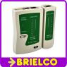 COMPROBADOR TESTER CABLE LAN RED PARA RJ45 Y RJ11 INFORMATICA TELEFONICA BD9278 -