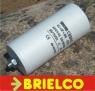 CONDENSADOR ARRANQUE BOBINADO MOTOR 40UF 40MF 450V 105X52MM APROX 5060HZ BD10534 -