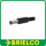 CONECTOR ALIMENTACION PLASTICO 2.1 X 5.5 X 14MM CONEXION POR SOLDADURA BD1436 -