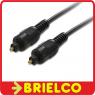CONEXION CABLE FIBRA OPTICA TOSLINK 5 METROS ENTRADA SALIDA AUDIO DIGITAL BD3400 -