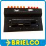 CONMUTADOR DE 4 ALTAVOCES ESTEREO 155X100X50MM CONECTORES CABLE ROJONEGRO BD6492 -