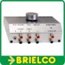 CONMUTADOR SELECTOR SPLITTER 4 ENTRADAS 1 SALIDA AUDIO ESTEREO RCA JACK BD10911 -