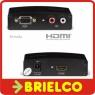 CONVERTIDOR ADAPTADOR DE VGA + AUDIO A HDMI ALIMENTADOR 5V FONESTAR FO392 BD3799 -