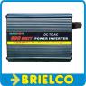 CONVERTIDOR INVERSOR ELEVADOR 12VDC-220VAC 600W ONDA SENOIDAL MODIFICADA BD10394 -