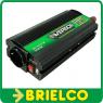 CONVERTIDOR INVERSOR TENSION 12VDC A 220VAC USB 5VAC 600W MECHERO PINZAS BD6585 -