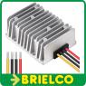 REDUCTOR TENSION CONMUTADO 48VDC A 24VDC 10A CARCASA METALICA 75X75X30MM BD9383 -
