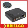 CONVERTIDOR RGB POR COMPONENTES Y AUDIO DIGITAL A HDMI 1080P Y ALIMENTADOR BD704 -