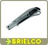 CUTER METALICO HOJA 18MM AUTO.BLOQUEO CUERPO METALICO ACERO INOXIDABLE BD5370 -