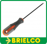 DESTORNILLADOR PHILIPS PH0 X 100MM PUNTA MAGNETICA MANGO ERGONOMICO 183MM BD3718 -