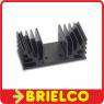 DISIPADOR DE CALOR CON PERFORACION ESPECIAL PARA KIT VELLEMAN 90X40MM BD2039 -