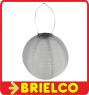 "FAROL 10"" PANEL SOLAR BATERIA RECARGABLE LEDS BLANCO RESISTENTE EXTERIOR BD3793 -"