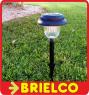 FAROLILLO LAMPARA PANEL ENERGIA SOLAR DE JARDIN SENSOR 1XAA ABS 110X480MM BD9870 -