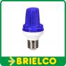 FLASH LED ESTROBOSCOPICO CASQUILLO E27 AZUL 3W 220V BD2150/LED -