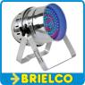 SICODELICO 180 LEDS FOCO PAR56 CORTO CROMADO 10MM 18W 230V COMPATIBLE DMX BD3726 -