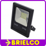 FOCO PROYECTOR LAMPARA LED 20W 220V SOPORTE ORIENTABLE 180X140X50MM NEGRO BD8934 -