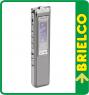 GRABADORA DIGITAL DE VOZ DICTAFONO Y GRABADOR TELEFONICO 8GB 552 HORA MAX BD3656 -