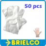GUANTES DE PLASTICO DESECHABLES 50 UNIDADES TRANSPIRABLES MICROCALADO BD5537 -