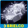 GUIRNALDA 100 LEDS BLANCOS 10 METROS 220VAC 8 PROGRAMAS NAVIDAD FIESTAS BD9339 -