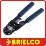 HERRAMIENTA CRIMPAR CONECTORES TELEFONICO RED CRIMPADORA PARA RJ50 10P10C BD6739 -