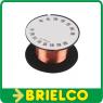 HILO DE COBRE ESMALTADO DIAMETRO 0.1MM ROLLO 15 METROS BOBINA EXTRAFINO BD9303 -