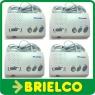 INTERCOMUNICADOR INALAMBRICO 220V SIN HILOS SISTEMA 4 TERMINALES 4 CANALES BD9803 -