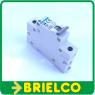INTERRUPTOR MAGNETOTERMICO AUTOMATICO UNIPOLAR 230VAC 20A IP20 CARRIL DIN 35MM BD4144 -