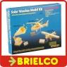 KIT DIDACTICO CON PLACA SOLAR Y MATERIAL PARA MONTAJE DE AVION MADERA BD6270 -
