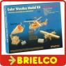 KIT DIDACTICO CON PLACA SOLAR Y MATERIAL PARA MONTAJE HELICOPTERO MADERA BD6269 -