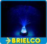 LAMPARA FILAMENTOS FIBRA OPTICA MULTICOLOR USB 7 LEDS MOTIVOS NAVIDEÑOS BD6455 -